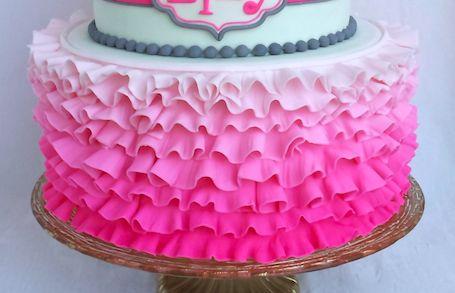 Cake Blog: Fondant Ruffles Tutorial