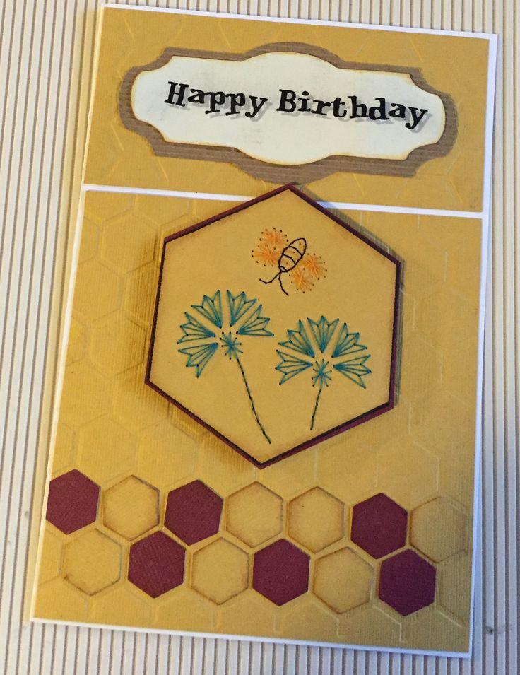 Card stitching & di cutting