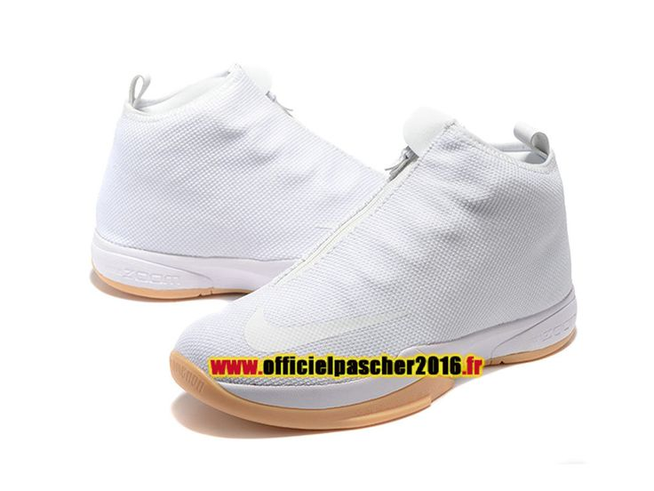 Nike Zoom Kobe Icon Chaussures Officiel Pas Cher 2016 Pour Homme blanc