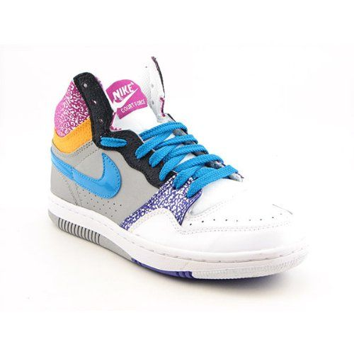Amazon.com: NIKE Court Force High Basketball Shoes White Womens: Shoes  Selling for
