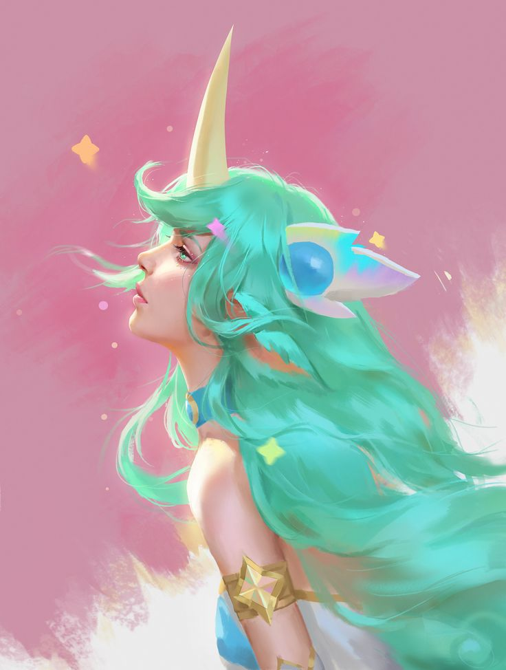 ArtStation – Soraka, Ghost HB