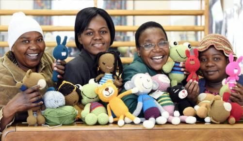 Crocheting their way to an income - People | IOL | Breaking News | South Africa News | World News | Sport | Business | Entertainment | IOL.co.za