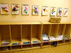 Image result for preschool cubbies