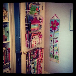 gift wrap organization - for the inside of the door & 39 best Gift wrapping organizing images on Pinterest | Organization ...