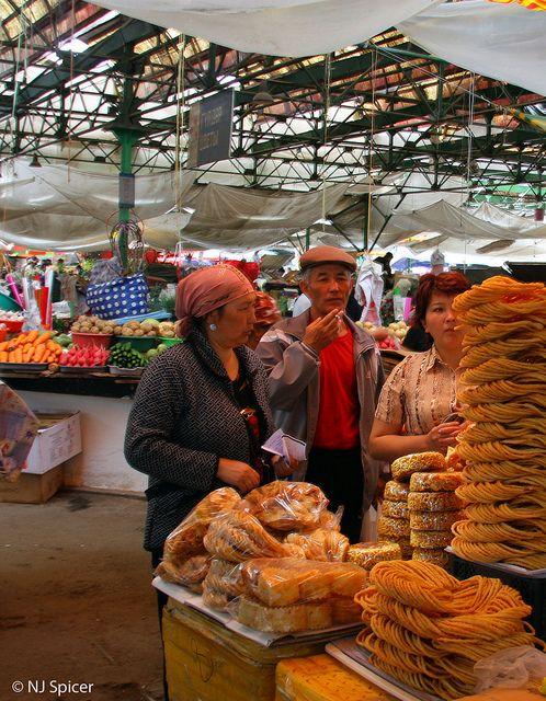 Osh Bazaar, Bishkek - Kyrgyzstan http://www.craftspring.com/artisans/our-favorite-craft-stores-in-bishkek-and-istanbul/