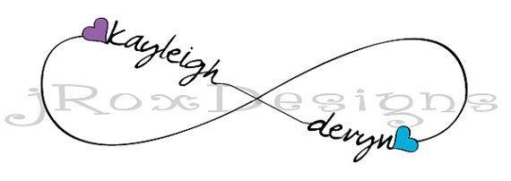 Double Infinity Knot Tattoo On Wrist Photo - 8: Real Photo ...
