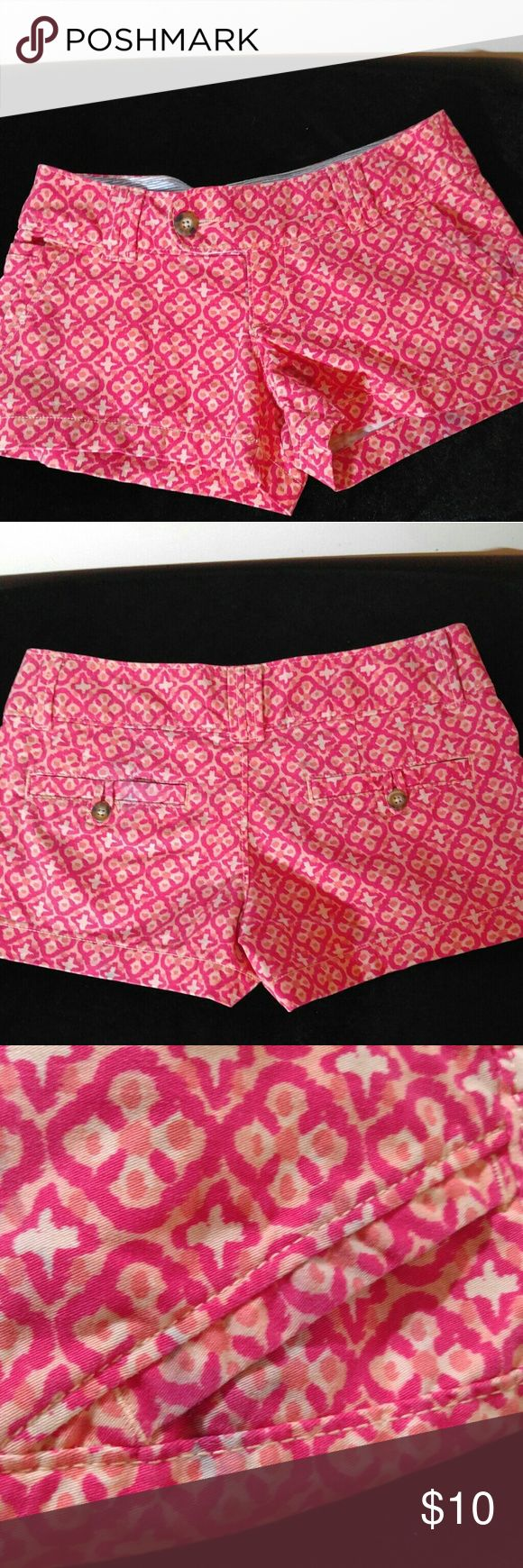 Red Camel Shorts Sz 0 Red Camel Shorts-These are really cute shorts, however I want to note that something bled on them in the wash, it's hardly noticeable. I did take photos but it really is so light you can hardly tell. Please see photos before you consider purchasing. Red Camel Shorts