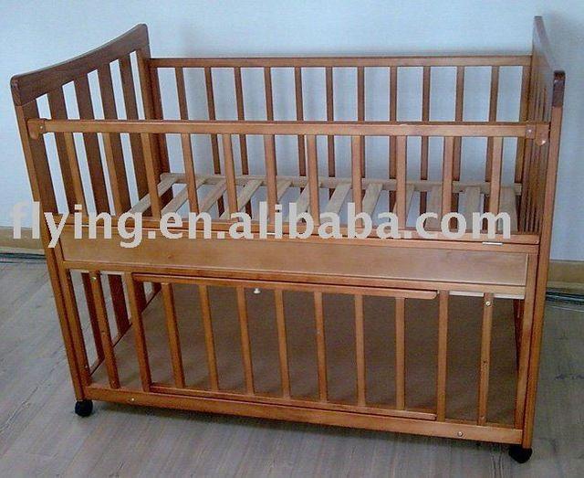 Source Wooden Baby Crib on m.alibaba.com