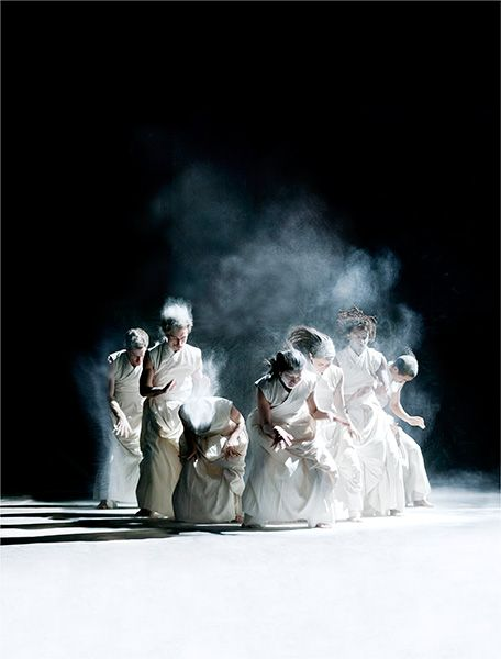 """Vertical Road"" by Akram Khan © Richard Haughton"