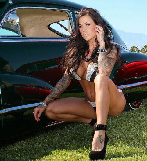 nude girl with chevy tattoo pic
