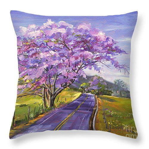 I love these throw #pillows #art #lavender #lilac #maui