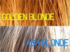 Toners will help you tone down the orange and gold in your hair after bleaching.