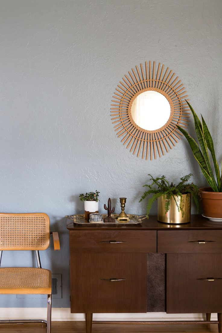 Refreshing a space by painting the walls has become a must in most homes. It's the fastest way to create change and style. #Purdy came through and helped us achieve a super chic, boho inspired dining room. See more on the blog