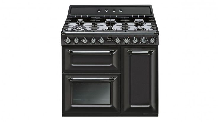 Smeg 90cm Victoria Freestanding Cooker - Black - Freestanding Cookers - Appliances - Kitchen Appliances | Harvey Norman Australia