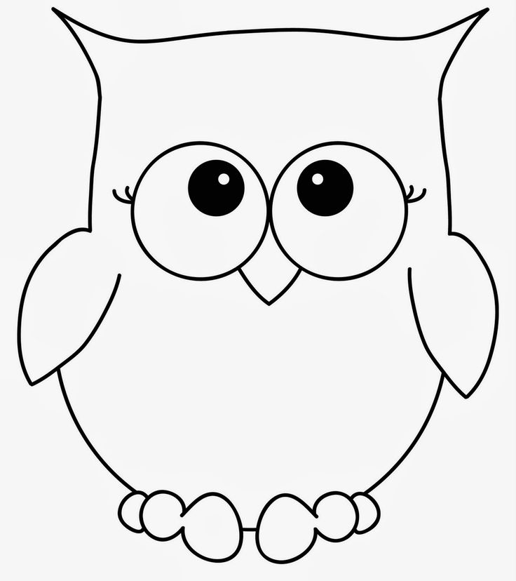 large owl template - Google Search | Patterns | Pinterest | Owl ...