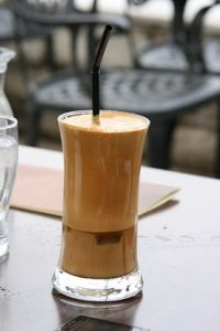 The secret recipe for: Greek frappe - the unofficial national coffee of Greece.