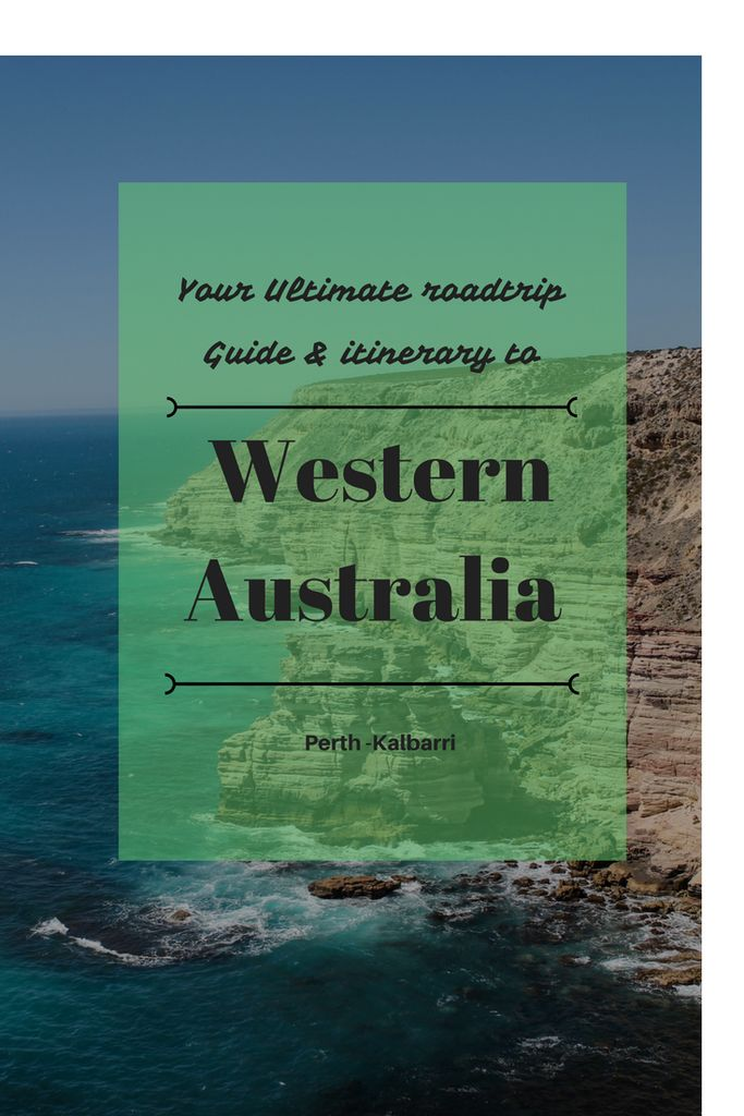 Ultimate roadtrip guide & itinerary travelling Western Australia in a campervan – Perth - Kalbarri