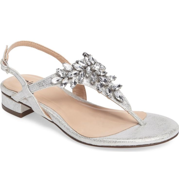 Main Image - pink paradox london Flame Crystal Embellished Sandal (Women)