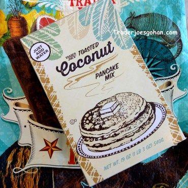 Trader Joe's Toasted Coconut Pancake Mix $3.69   #TraderJoes #Toasted #Coconut #PancakeMix #トレーダージョーズ