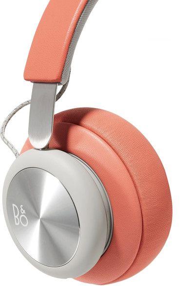 B&O Play - H4 Wireless Leather And Aluminium Headphones - Orange - one size
