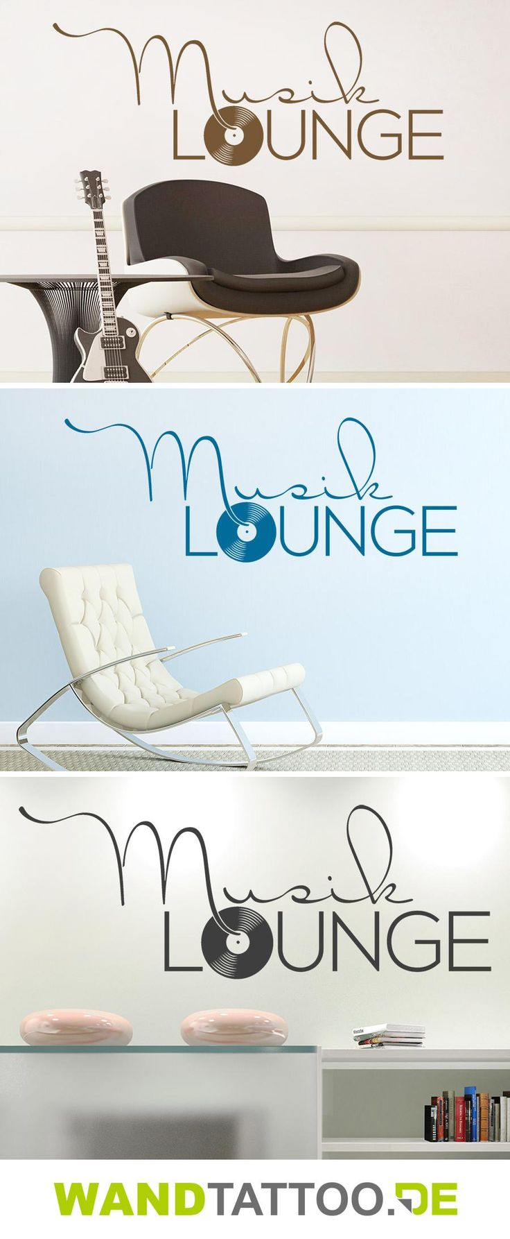 Wandtattoo Musik Lounge hier entdecken. Spitzenqualität aus Deutschland   schnelle Lieferung   portofrei (D) bei WANDTATTOO.DE bestellen!