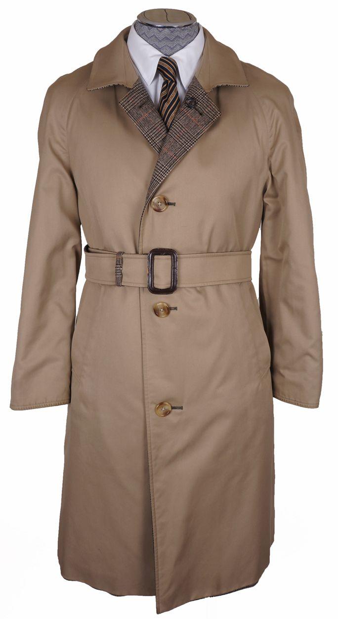 vintage men's raincoat