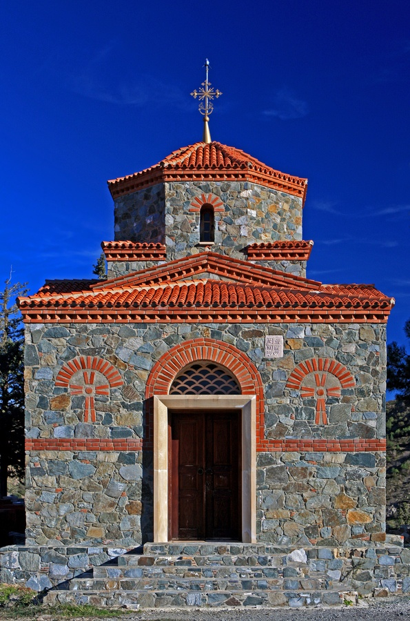 Little Chapel, Machairas, Cyprus