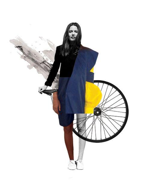 """Passing By"" . Illustration . Beatriz Alão Valente"