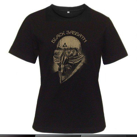 Classic Black Sabbath US TOUR 1978 Women Black T-Shirt Size S to 3XL