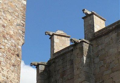 Gárgolas de la Concatedral de Santa María