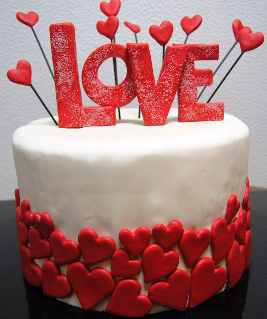 12 decorações de bolos para o dia dos namorados - Amando Cozinhar - Receitas…