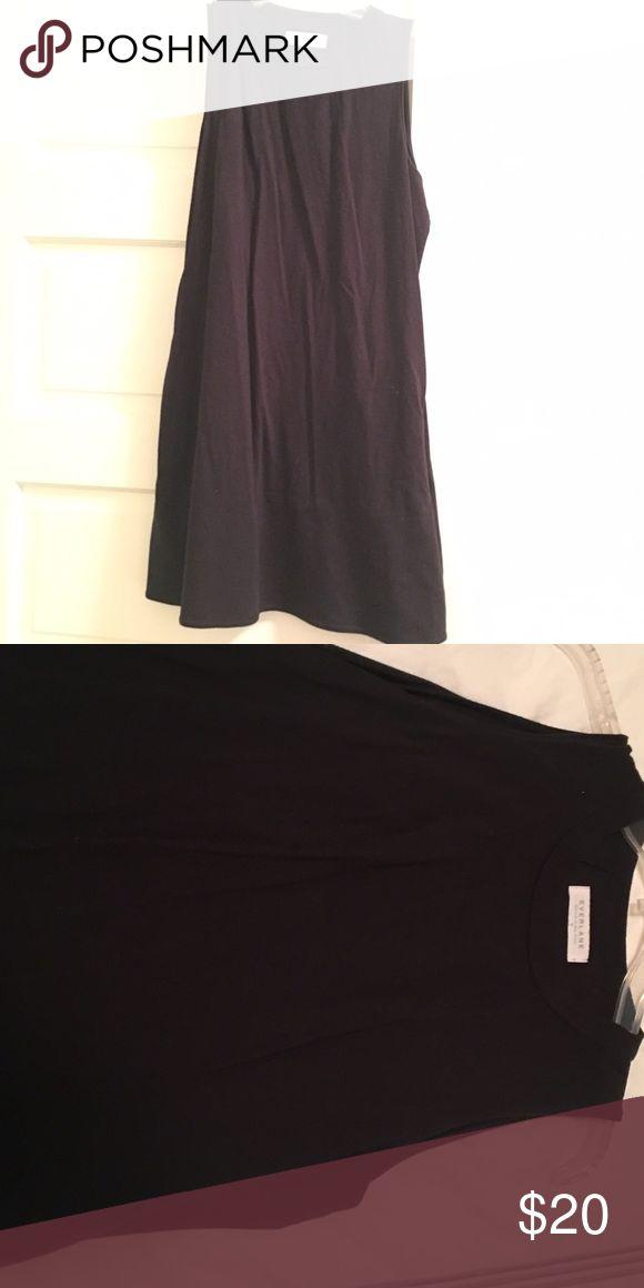 Everlane Black Shift Dress Cotton black shift dress from Everlane Everlane Dresses