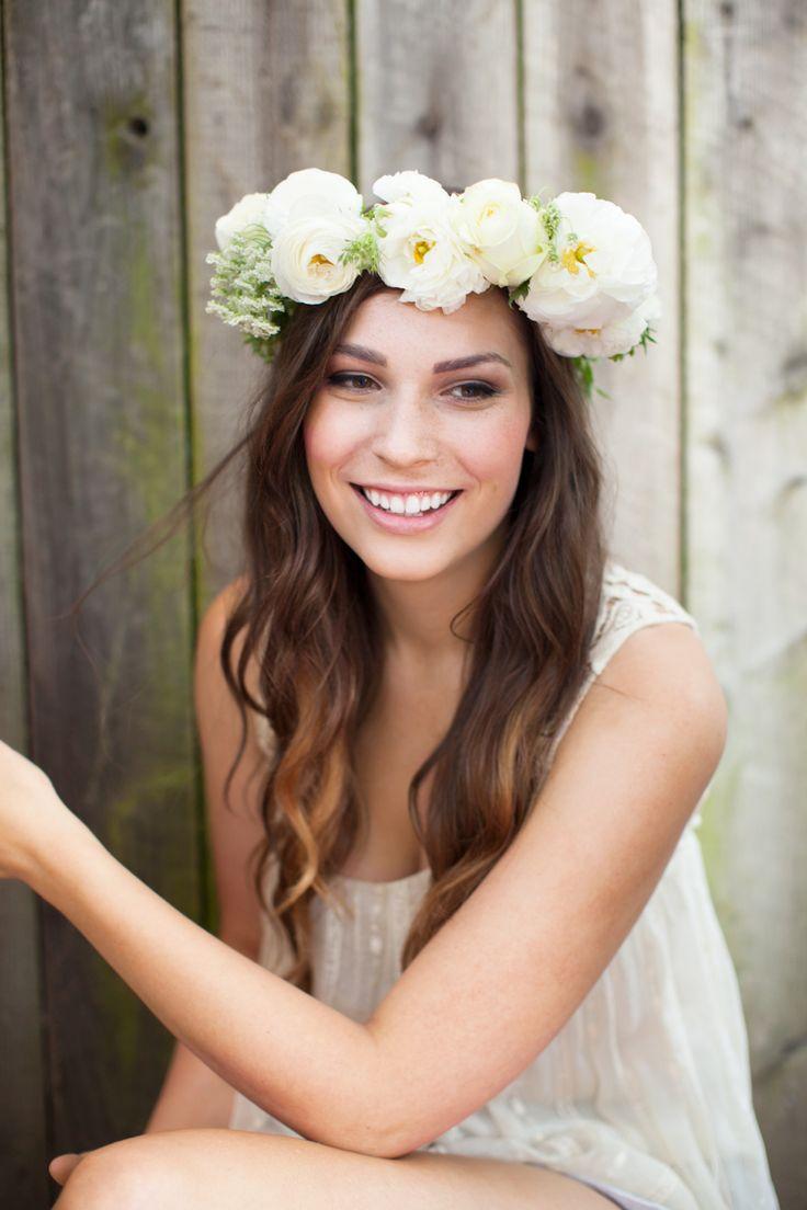 flower crown #wedding
