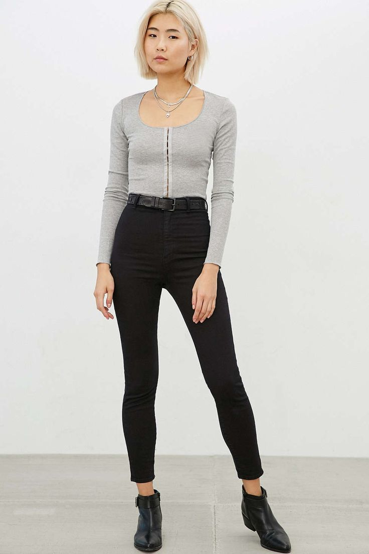 Silence + Noise Amber Hook + Eye Top - Urban Outfitters