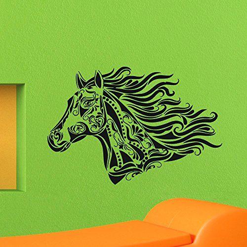 Horse Nature Animals Wall Vinyl Decal Sticker Wall Decor Home Interior Design Art Mural Z436 WisdomDecalHouse http://www.amazon.com/dp/B00NS270PU/ref=cm_sw_r_pi_dp_PcQiub13F8WJV
