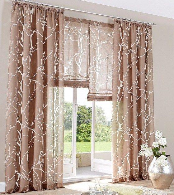 die 25+ besten ideen zu vorhänge braun auf pinterest | gardinen ... - Vorhange Wohnzimmer Braun