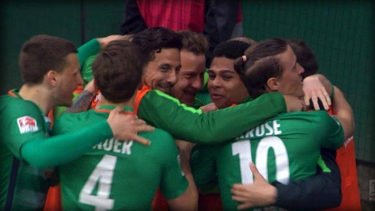 9 Spiele in Folge ungeschlagen? Die Serie des SV Werder Bremen ist langsam richtig unheimlich! Und mittlerweile können die Bremer auch Spiele drehen. Musste auch der HSV im Nord-Derby erfahren: