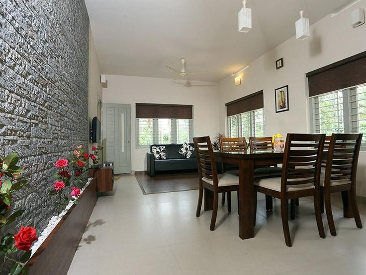 Dining Room And Living Combo Area With Design