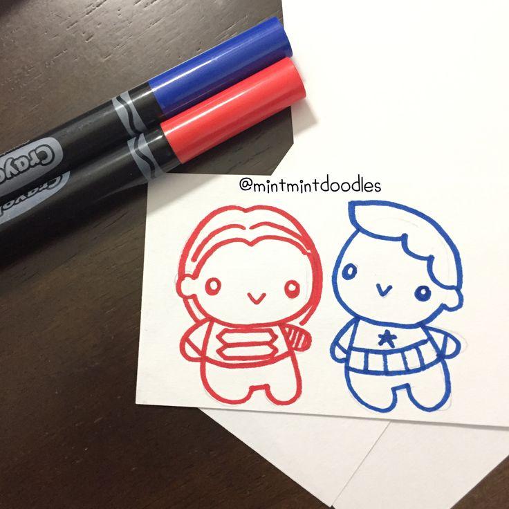 Crayola + small index card ✨ #mintmintdoodles