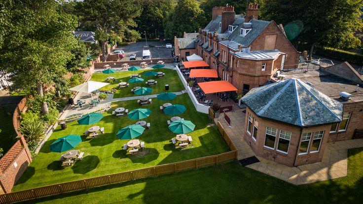 The Balgarth Pines Restaurant, Doonfoot, Ayr. #whywefly #aerialpixls #djiinspire1