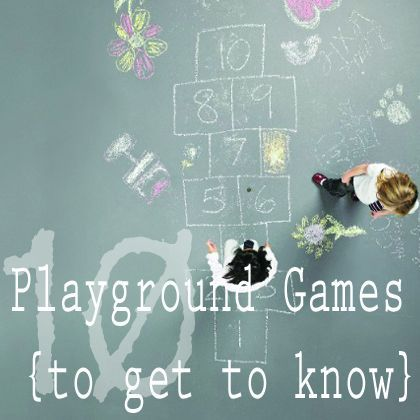 10 Playground Games to get to Know Before School Starts