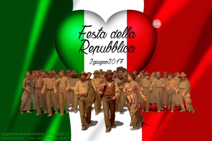CDB CARTOLINE Compleanno per Tutti i Gusti! : Cartolina - Festa della Repubblica.  2 giugno 2017...