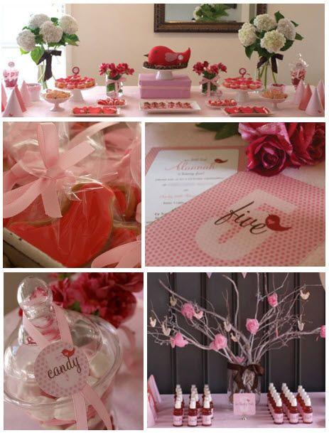Pink Bird Party