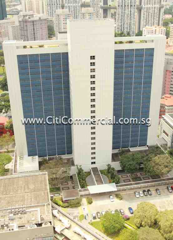 MND Complex comprises a 18-storey office development located along Maxwell Street.