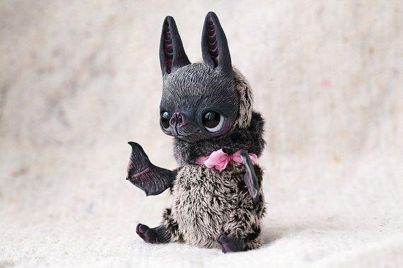 Violet Bat by chercheto on Etsy