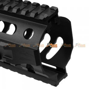 Fashion Defence Aluminum 11.8 Inch Long KRISS Rail for KWA KRISS VECTOR Airsoft GBB (Black) - AirsoftGoGo