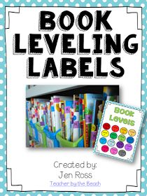 Fountas and pinnell FREE book labels