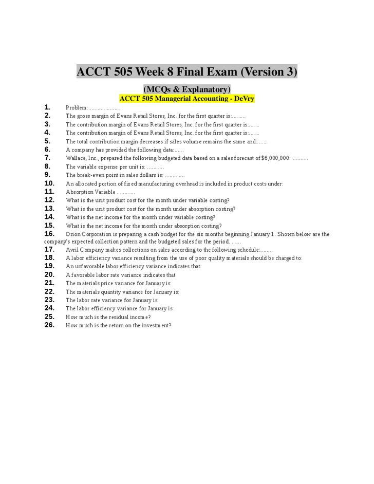 final exam mgmt e 1000 haselkorn financial accounting Final exam mgmt e 1000 haselkorn financial accounting mngt-511 final exam (total points 100) name: rebecca malandrino chapter 7 1) which of the following types of.