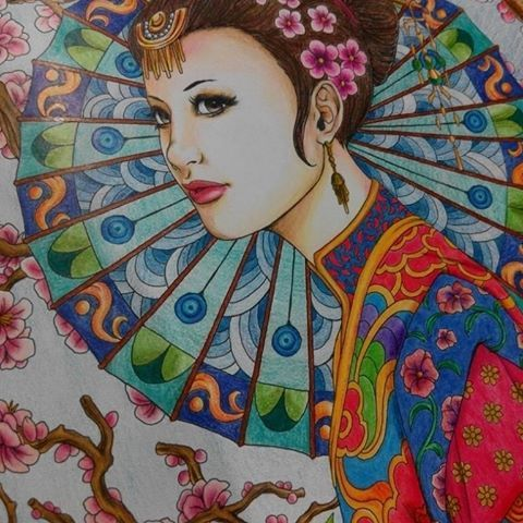 Finally!  sorry for similar posts. I'm just happy I could finally finish coloring this amazing illustration by Nicholas F. Chandrawinata. #colorpencils #fantasiacoloringbook  #coloringbook #colortherapy #nickfilbert #nofilter