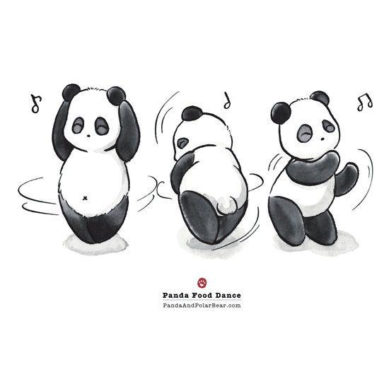Panda Food Dance